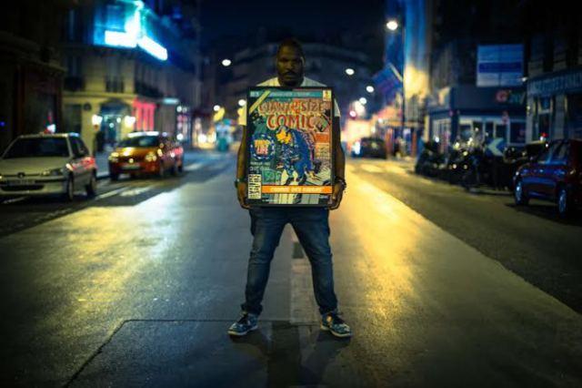 Fred Ébami veut plus de pop art pour l'Afrique. © Fred Ebami
